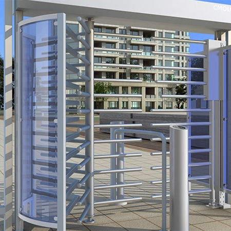 Pedestrian/Cyclist Shared Full Height Turnstile CPW-251AB01